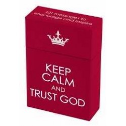 Box Of Blessings-Keep Calm...