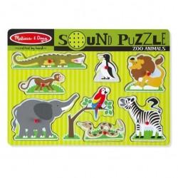 Puzzle-Zoo Animals Sound...