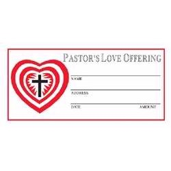 Offering Envelope-Pastor's...