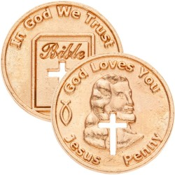 Coin-Jesus Penny (Pack of 50)