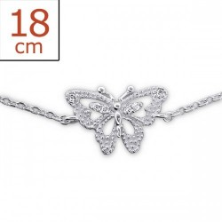 Bracelet-Chain Butterfly...