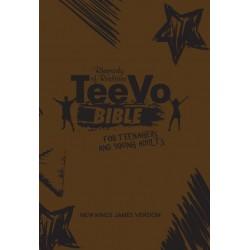 TEEVO BIBLE-PU-BROWN