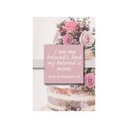 Bulletin-Wedding-I Am My...