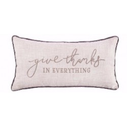 Pillow-Give Thanks (12 x 23)