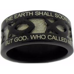 Ring-Black Stainless...