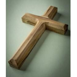 """Cross-Olive Wood-Plain (4.75"""")"""
