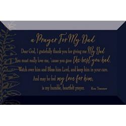 Plaque-Artisan Glass-Prayer...