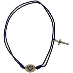 Bracelet-Purple Cotton...