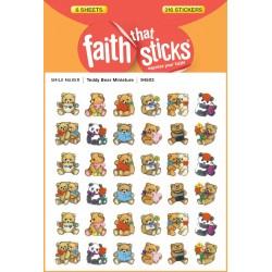 Sticker-Teddy Bear...