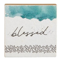 """Plaque-Tabletop-Blessed (4""""..."""