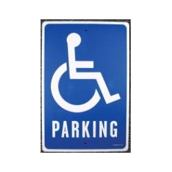 Sign-Handicapped Parking