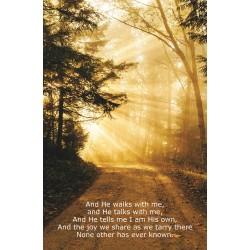 Bulletin-He Walks With Me...