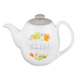 Teapot-Grateful Floral