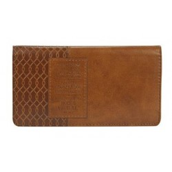 Checkbook Cover-For I Know...
