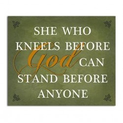 Wall Plaque-She Who Kneels