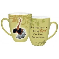 Mug-She Who Kneels-Green