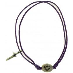 Bracelet-Lavender Cotton...