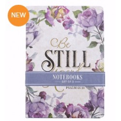 Notebook Set-Be Still (Set...