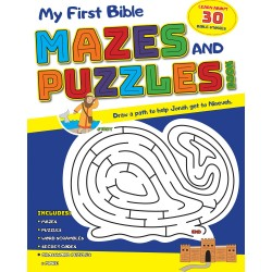 My First Bible Mazes And...